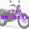 TW225(DG09)フルモデルチェンジによって生まれ変わった